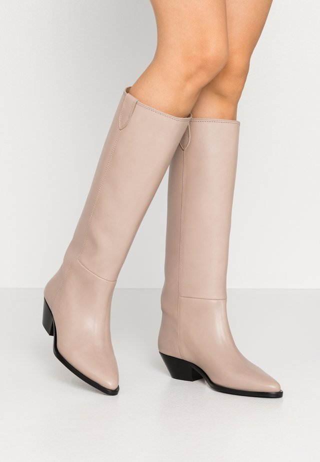 HUNTER HIGH BOOT - Bottes - clay