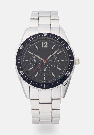 Uhr - silver-coloured/blue