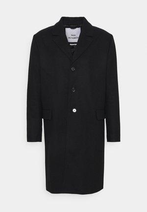 JULIUS - Klasický kabát - black