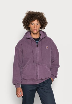 HOODED VISTA JACKET - Zip-up sweatshirt - dark iris