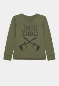 Zadig & Voltaire - LONG SLEEVE - Long sleeved top - khaki - 0