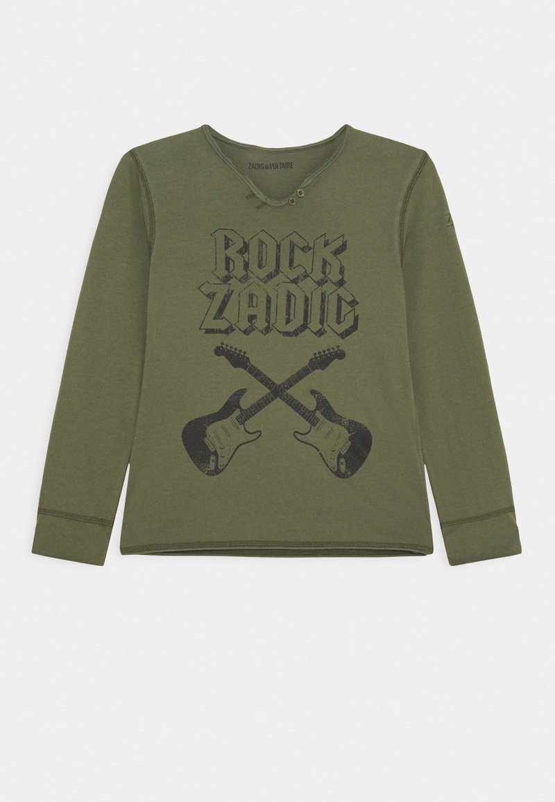 Zadig & Voltaire - LONG SLEEVE - Long sleeved top - khaki