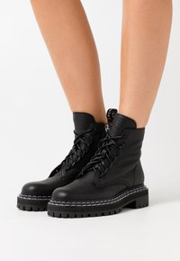 Proenza Schouler - Platform ankle boots - nero - 0