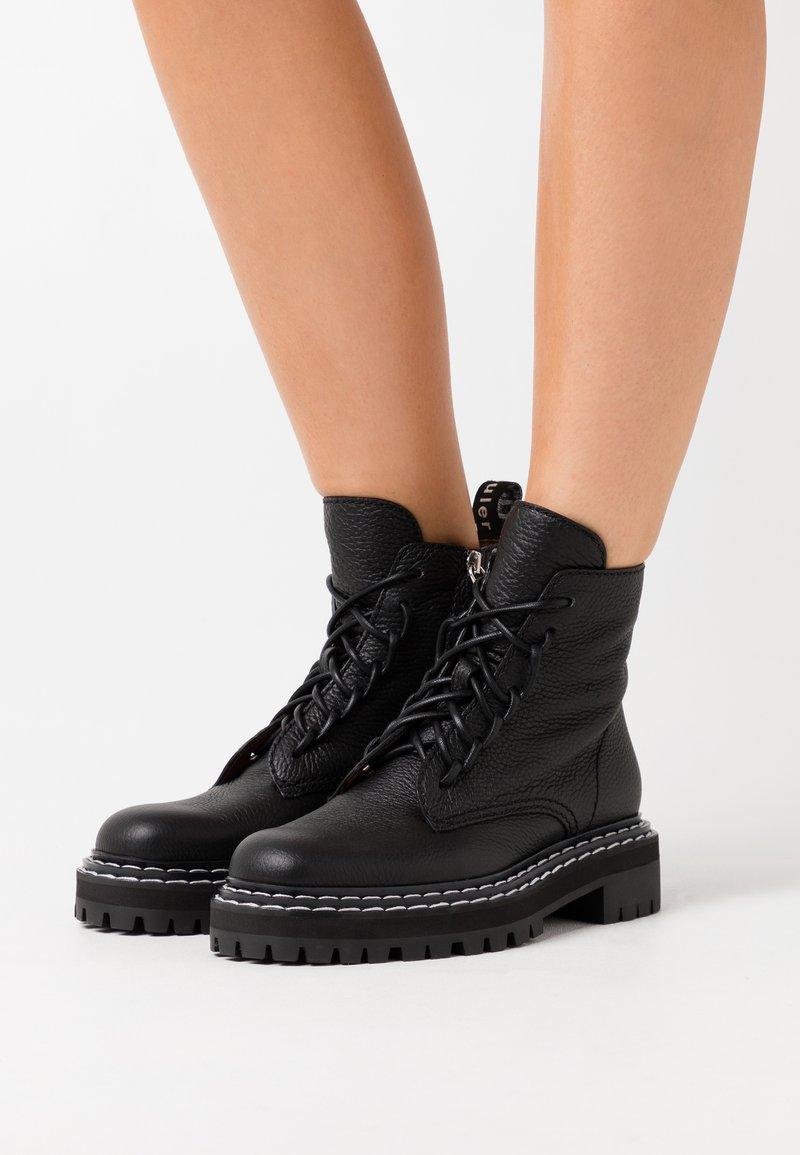 Proenza Schouler - Platform ankle boots - nero