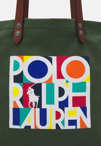 Polo Ralph Lauren - TOTE LARGE - Tote bag - olive - 3
