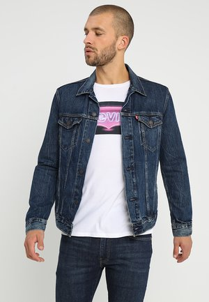 THE TRUCKER JACKET - Jeansjacka - palmer trucker