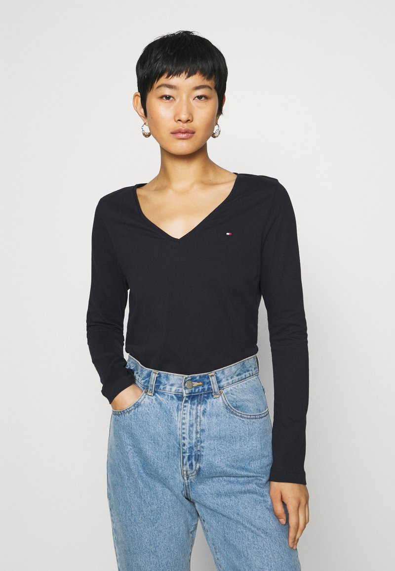 Tommy Hilfiger - CLASSIC - Long sleeved top - desert sky