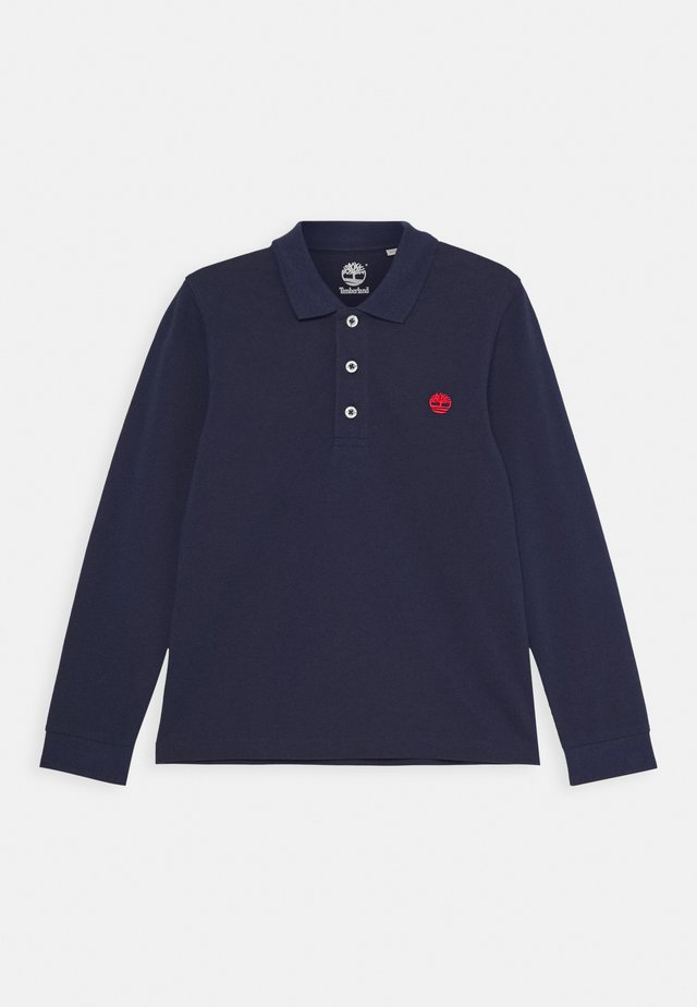 LONG SLEEVE - Polo - navy