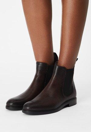 Støvletter - dark brown