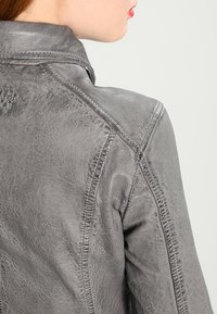 Oakwood - Leather jacket - anthracite - 4