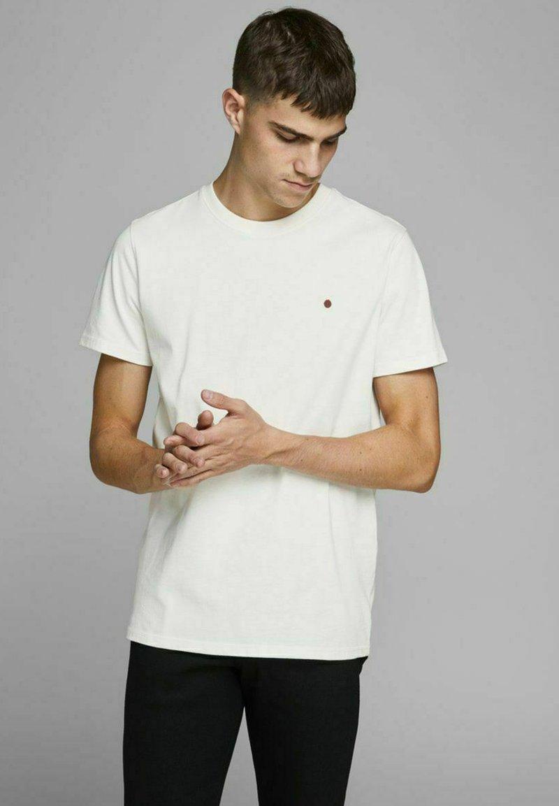 Royal Denim Division by Jack & Jones - JJ-RDD CREW NECK - T-shirt basic - white