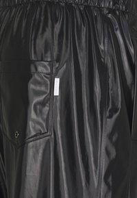 Rains - UNISEX PANTS - Trousers - shiny black - 2