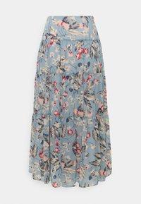 Lauren Ralph Lauren - POLY CRINKLE  - A-line skirt - blue multi - 1