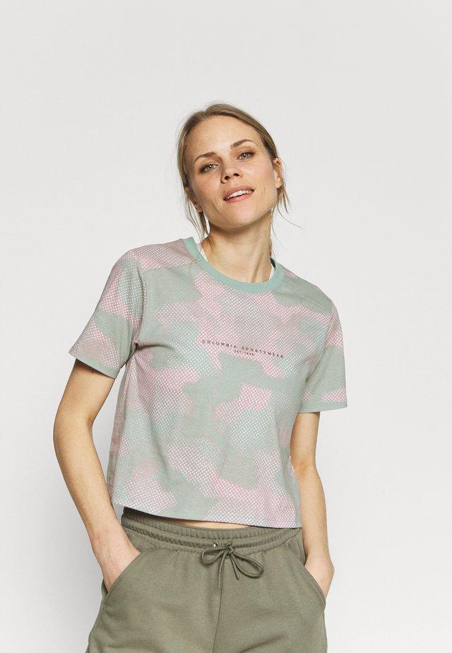 PARK™ BOX TEE - T-shirt con stampa - aqua tone