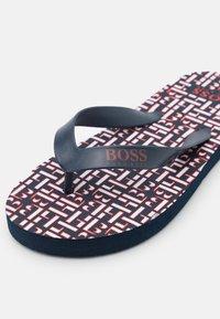 BOSS Kidswear - T-bar sandals - navy - 5