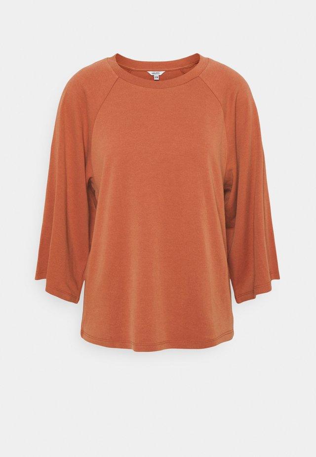 MIZZA - T-shirt à manches longues - copper brown