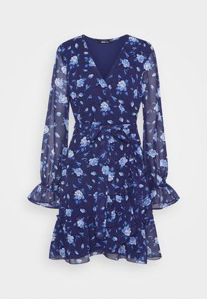 JULIANNA WRAP DRESS - Sukienka koktajlowa - navy