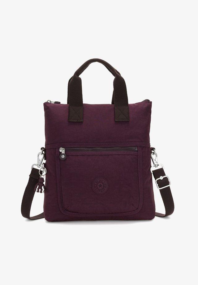 Across body bag - dark plum