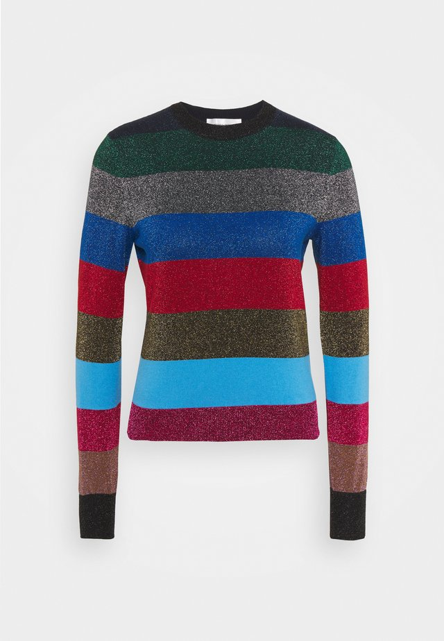 LUREX STRIPE CREWNECK JUMPER - Pullover - multi