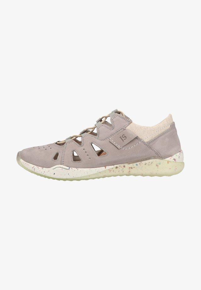 Sneakers laag - grau-kombi