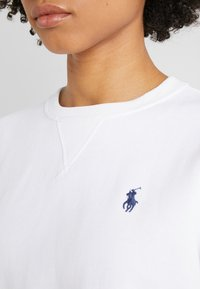 Polo Ralph Lauren - LONG SLEEVE - Sweatshirt - white - 5
