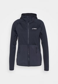 adidas Performance - TERREX TECH LITE HOODED - Fleece jacket - legend ink - 4