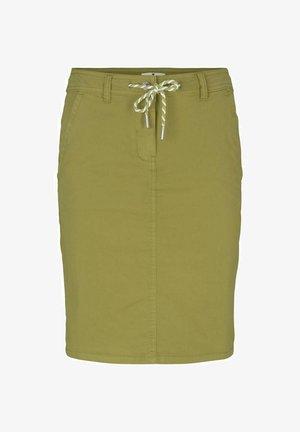Pencil skirt - gecko green