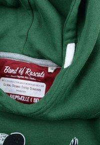Band of Rascals - BAND OF RASCALS HOODED DAB - Hoodie - dark/green - 3