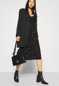 Anna Field - Jersey dress - black/white - 3