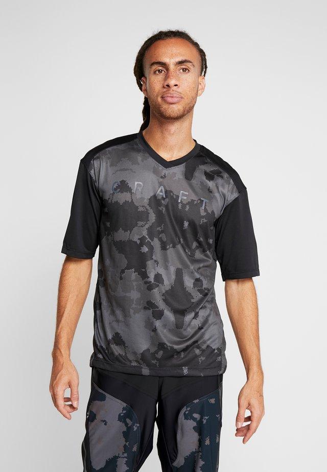 HALE - T-shirt con stampa - black