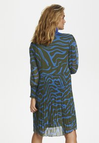 Denim Hunter - Day dress - blue zebra print - 2