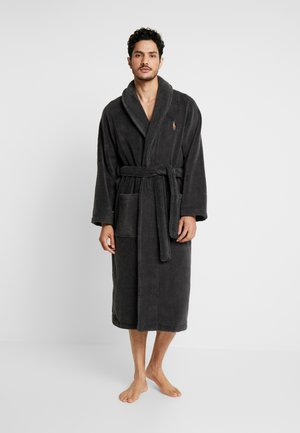 SHAWL COLLAR ROBE - Dressing gown - dark slate