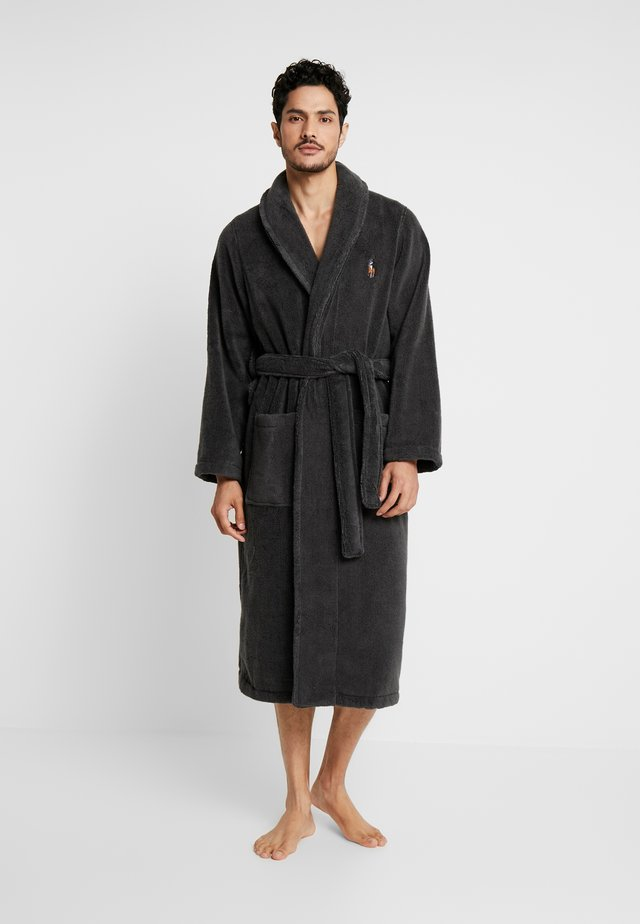 SHAWL COLLAR ROBE - Peignoir - dark slate