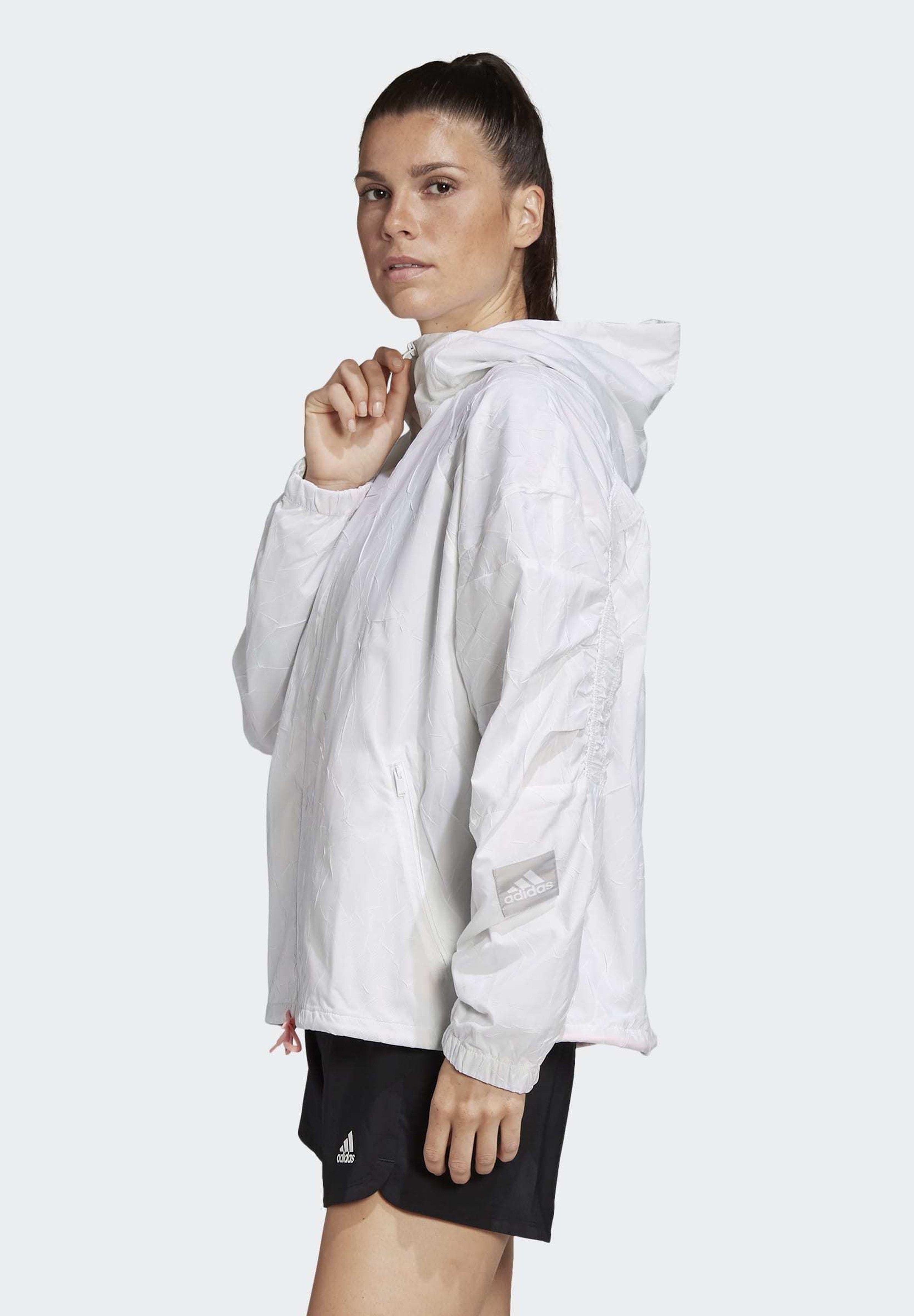 adidas Performance ADIDAS W.N.D. ITERATIONS JACKET Regenjacke / wasserabweisende Jacke white/weiß