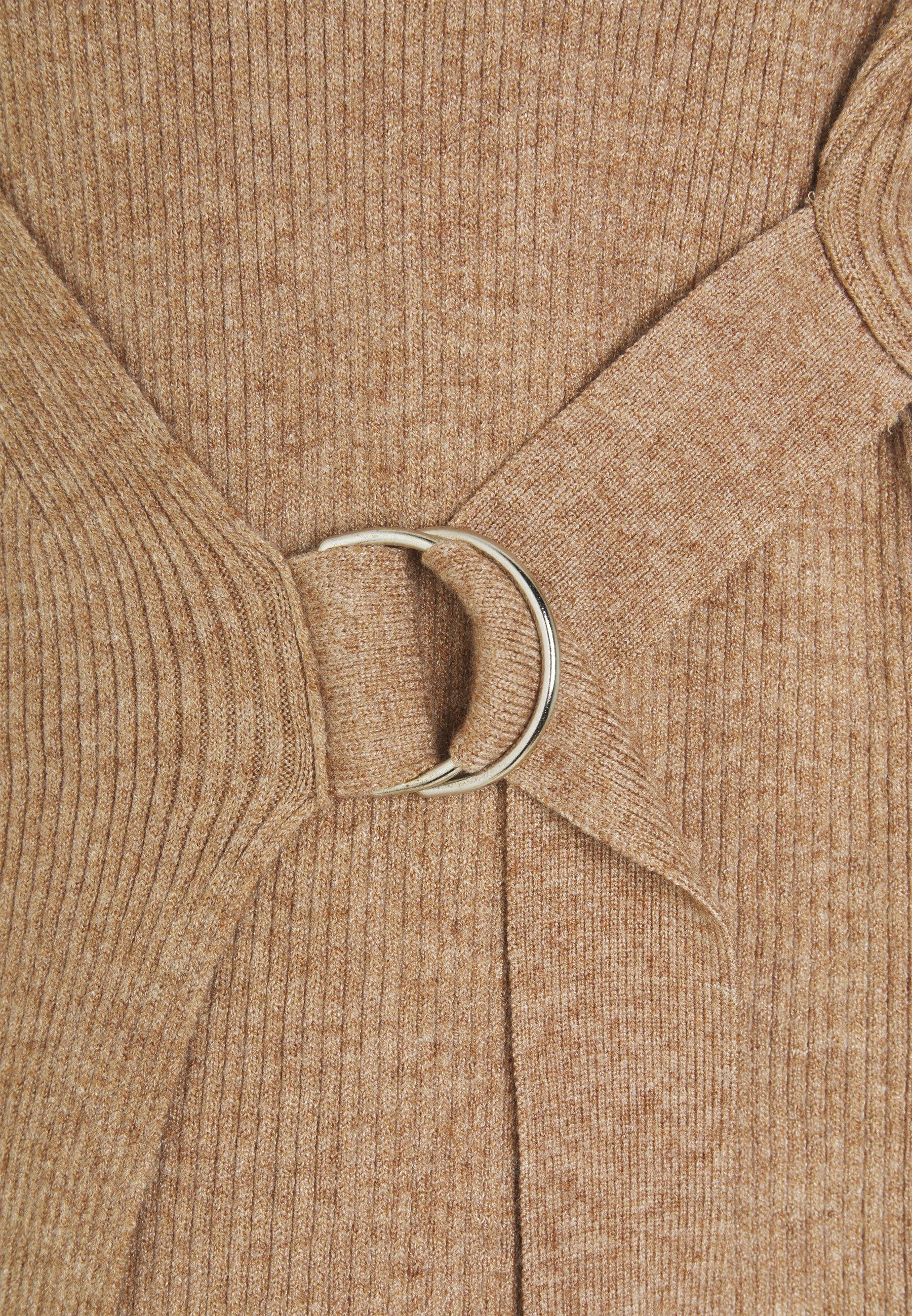 Object Objfae Thess - Strickpullover Chipmunk/melange
