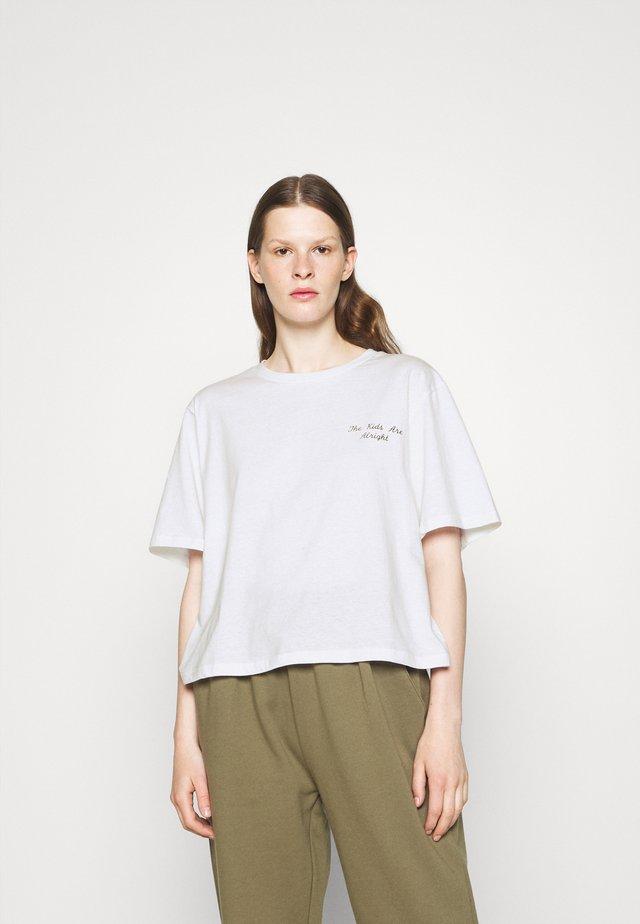 STANLEY KIDS TEE - T-shirt imprimé - white
