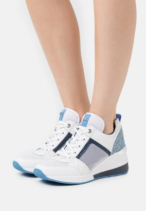 GEORGIE TRAINER - Trainers - bright white/multicolor