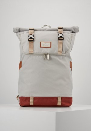 CHRISTOPHER MID TONE SERIES - Tagesrucksack - light grey/maroon