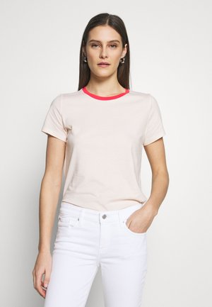 VINT CREW - Camiseta básica - red/peach