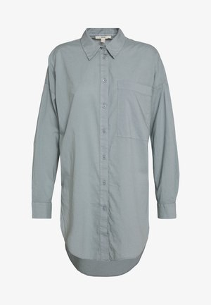 PLAIN - Button-down blouse - grey blue