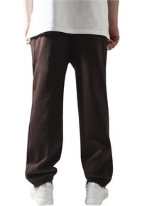 Urban Classics - SWEATPANTS SP. - Tracksuit bottoms - brown - 1