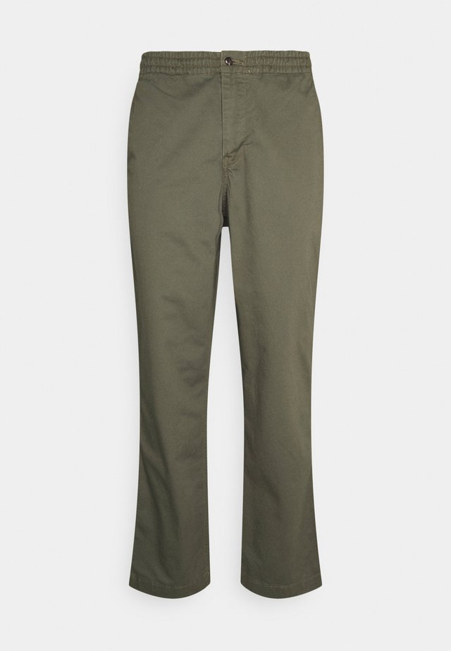 FLAT PANT - Chinos - expedition olive