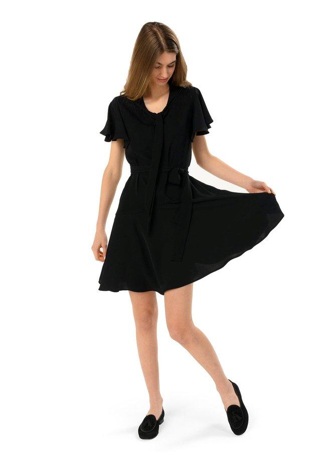 Korte jurk - nero