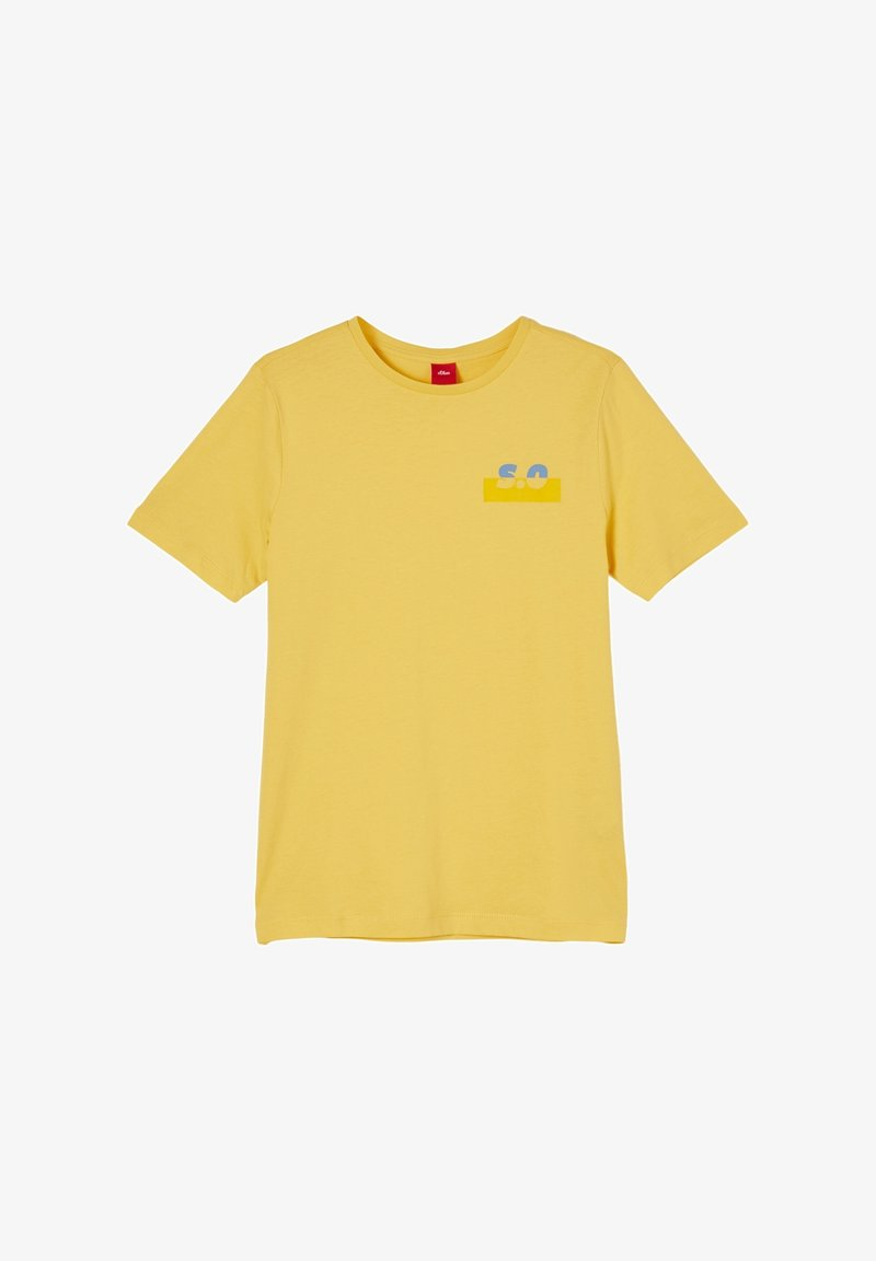 s.Oliver - Print T-shirt - yellow