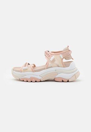 ACE - Platform sandals - pristine/pinksalt/whisper