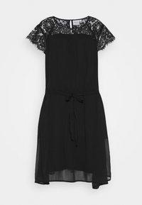 JUNAROSE - by VERO MODA - JRCAROLINA SS - K - Denní šaty - black - 4