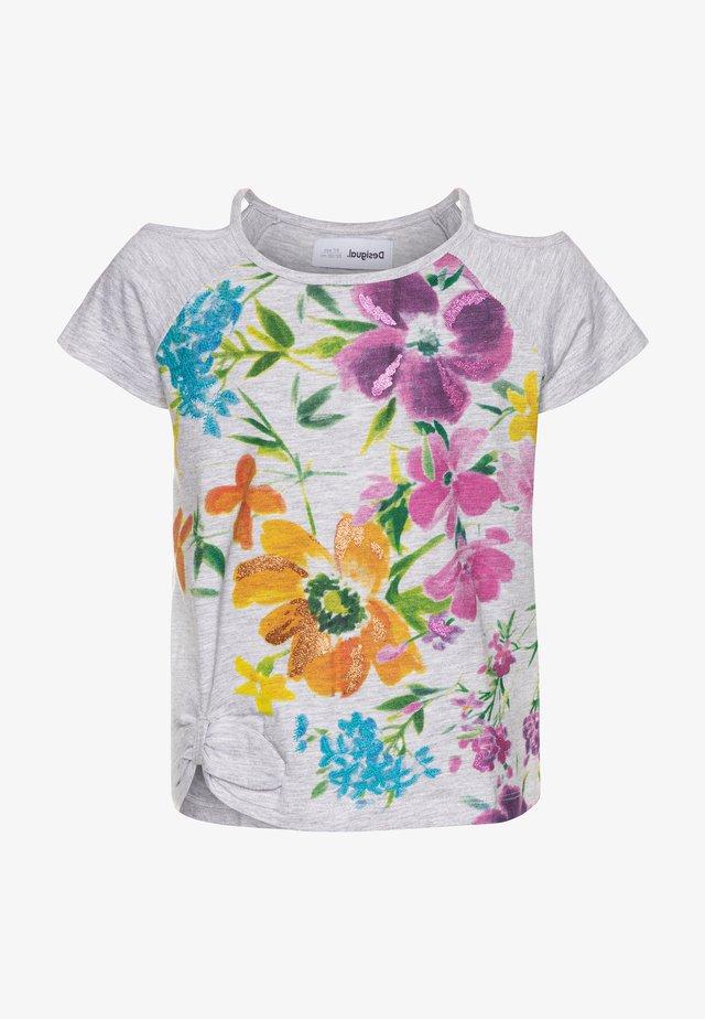 EDIMBURGO - T-shirt print - gris vigore medio