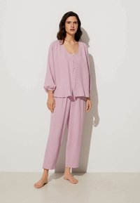 OYSHO - Pyjama bottoms - mauve - 1