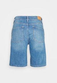 s.Oliver - Denim shorts - middle blu - 1