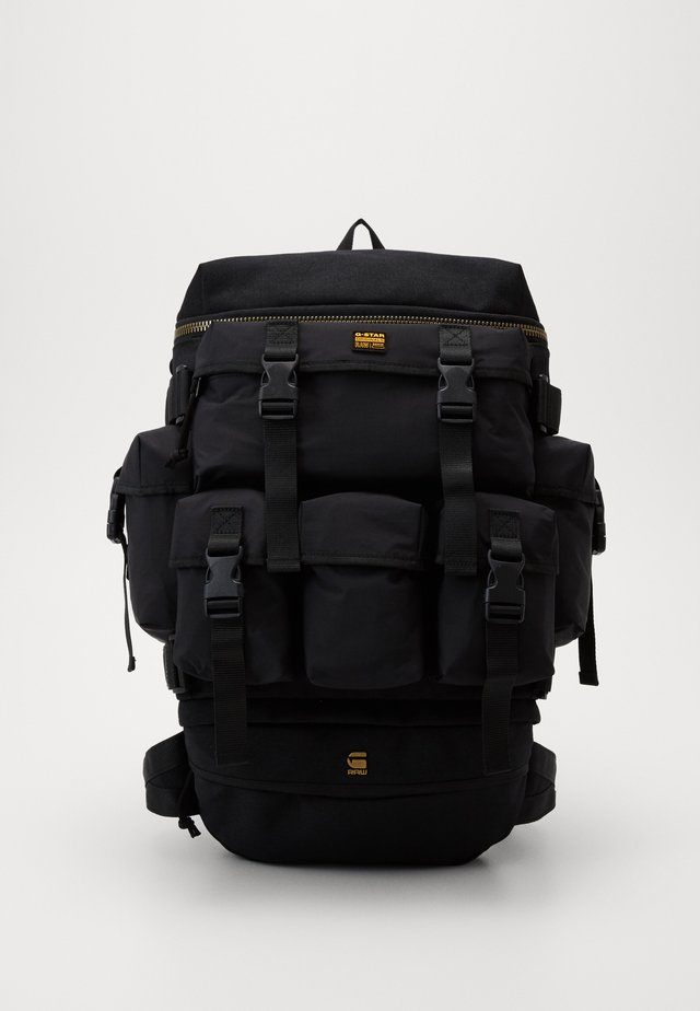 ESTAN DETACHABLE POCKET BACKPACK - Rucksack - black